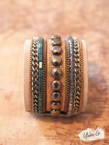 Bracelet style hippie chic coloré Yami-Gi